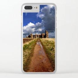 Slains Castle Clear iPhone Case