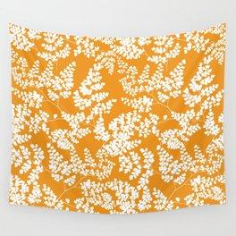Spring Orange Wall Tapestry