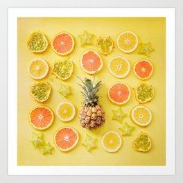 Citrus Party Art Print