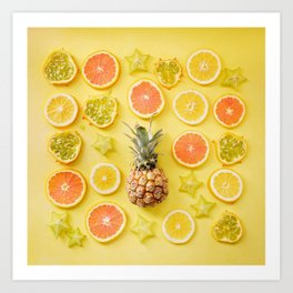 Citrus Party Art Print