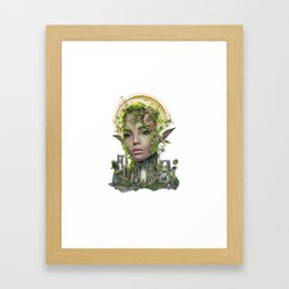 Summer Dryad Framed Art Print