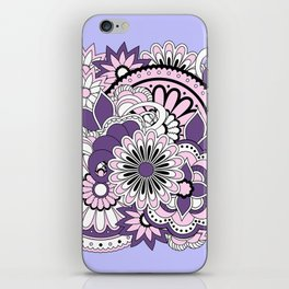 violet zen composition iPhone Skin