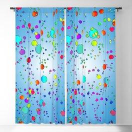 Colorful bubbles 228 Blackout Curtain