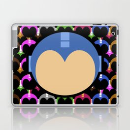 Blue Bomber Laptop & iPad Skin