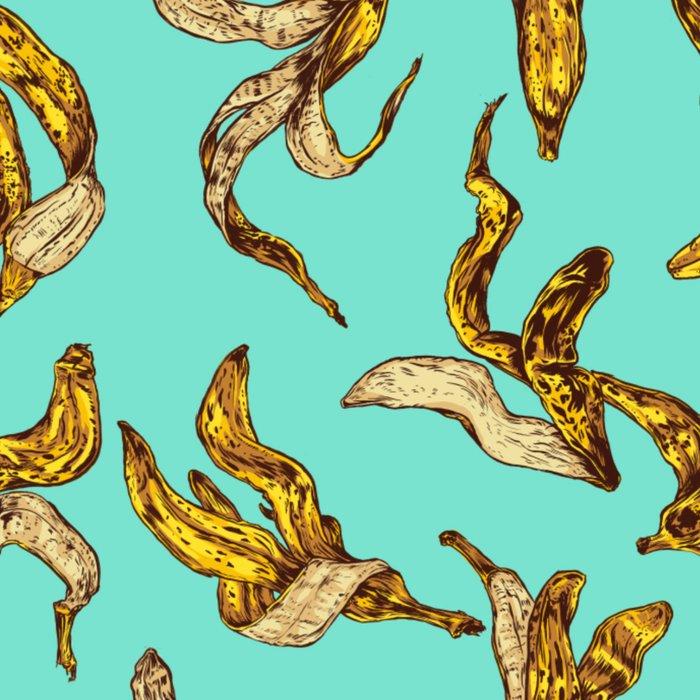 Banana Peel Pattern Leggings