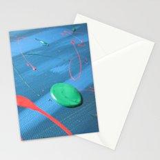Acryl Pattern Blue Stationery Cards