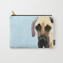 Great Dane Art - Dog Painting by Sharon Cummings Carry-All Pouch