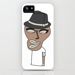 Bed Face iPhone Case