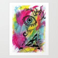 ISH. Art Print