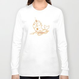 Neville the AWOL Narwhal Long Sleeve T-shirt