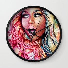 Pink Friday Wall Clock