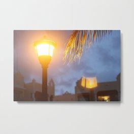 Flipped Light Metal Print