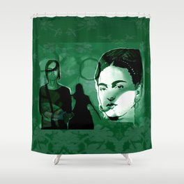 FRIDAmorphosis Shower Curtain