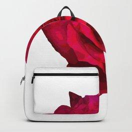Mininimalism Red Rose Backpack
