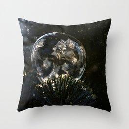 Frozen stars Throw Pillow