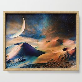 Volcanic Planet Serving Tray
