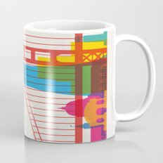 Shapes of San Francisco. Accurate to scale Mug