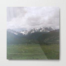 Moraine Valley Metal Print