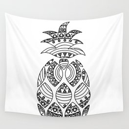 Ornate pineapple Wall Tapestry