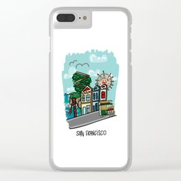 San Francisco, California Clear iPhone Case