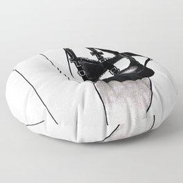 cherry blossom fetish Floor Pillow