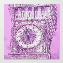 Emerson Bromo-Seltzer Tower Clock Canvas Print