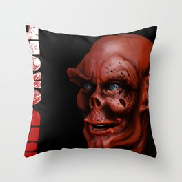 THE FACE COLLECTION - RED SKULL Throw Pillow