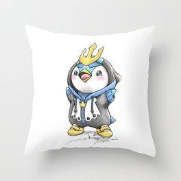 Bow down to thy Emperor!   Throw Pillow