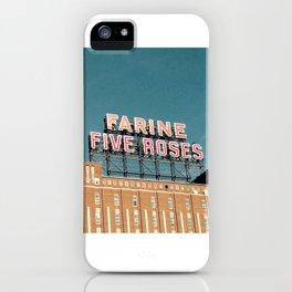 Farine Five Roses iPhone Case
