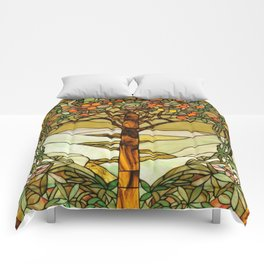 Louis Comfort Tiffany - Decorative stained glass 6. Comforters