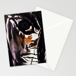 The angry young lady Stationery Cards