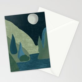 Mountain River #3 Stationery Cards