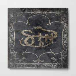Book of Sin Metal Print