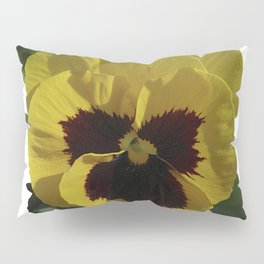 Golden Pansy Pillow Sham