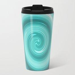 Turquoise burst Travel Mug