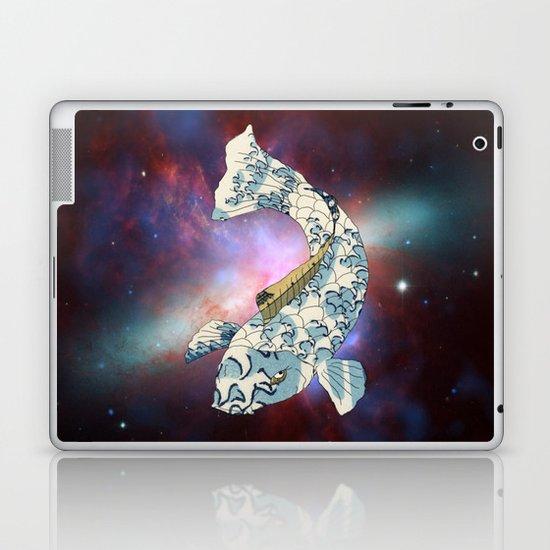 Koi japanese fish number two Laptop & iPad Skin