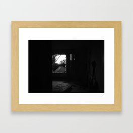 Open way to unconscious Framed Art Print