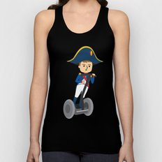Napoleon Segways the Alps Unisex Tank Top