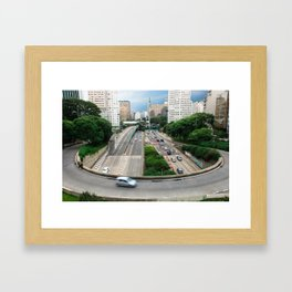 São Paulo Framed Art Print