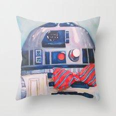 Bow2-Tie2 Throw Pillow