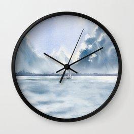 Far Away Wall Clock
