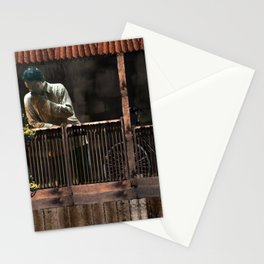 """Irrfan Khan as Saajan in """"The Lunchbox"""" Stationery Cards"""