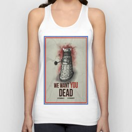 We Want You Unisex Tank Top