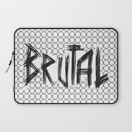Brutal Fence Laptop Sleeve