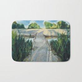 Bridge To Beach Bath Mat