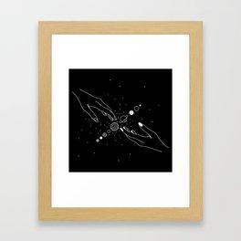 Planets Align 2.0 Framed Art Print