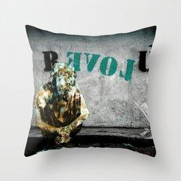 ABRACADABRA - R EVOL UTION Throw Pillow