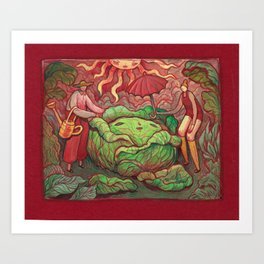 Harvest Set - Care Art Print