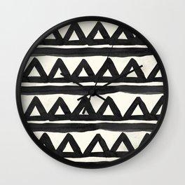 Chevron Tribal Wall Clock
