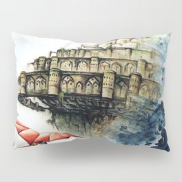 """The castle in the sky"" Pillow Sham"